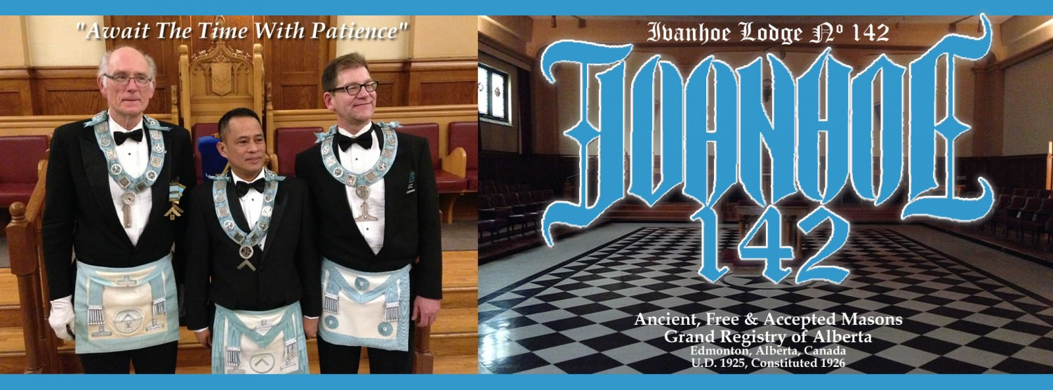 Ivanhoe Lodge No. 142, GRA, AF&AM